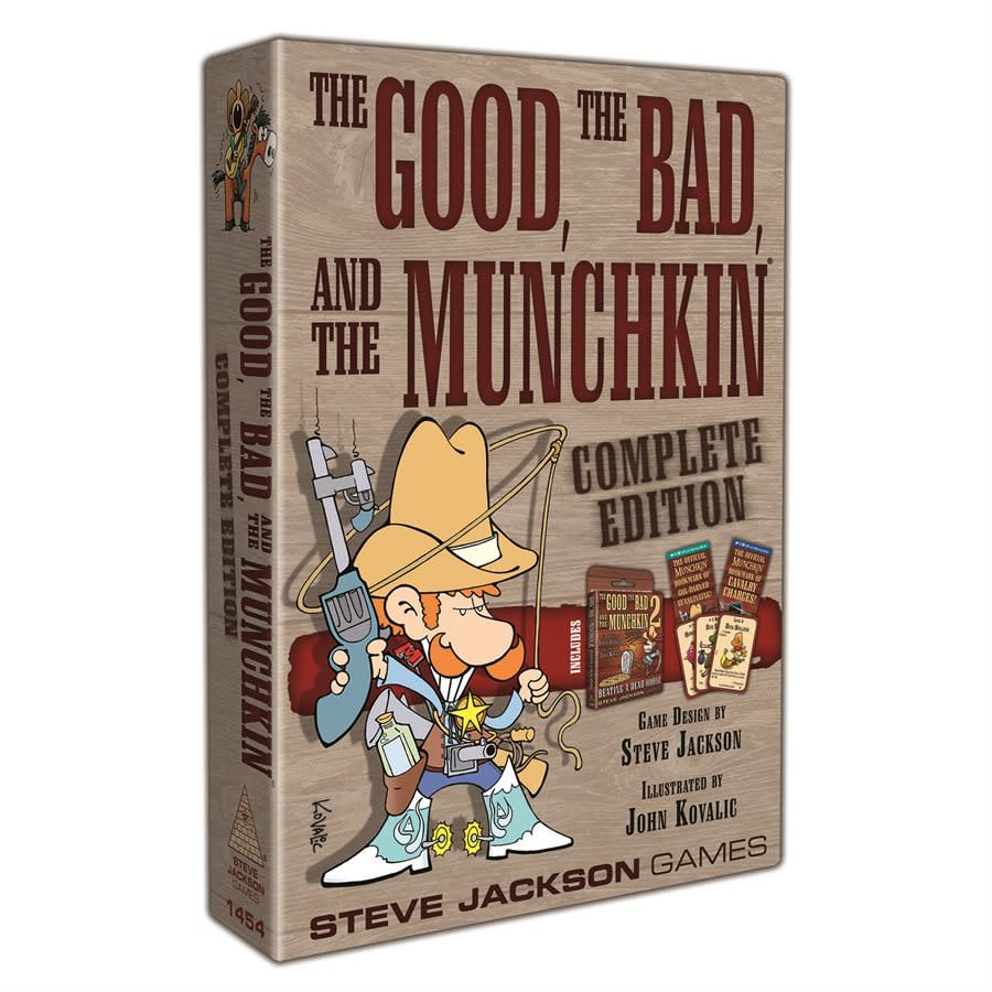 The Good, the Bad, and the Munckin Complete Edition