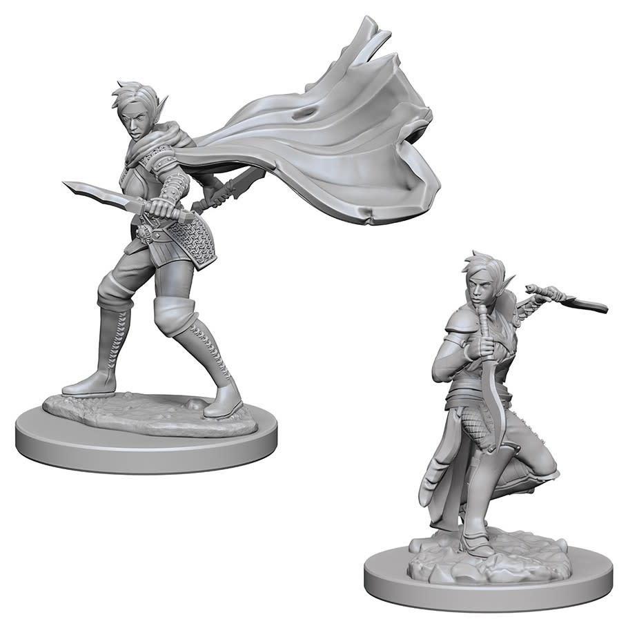 PF Unpainted Minis: Elf Female Rogue