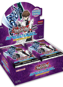 YGO Speed Duel: Attack from the Deep Booster Box (Sortie le 30 Mai)