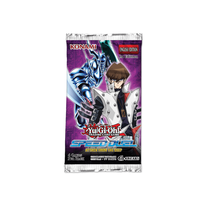 YGO Speed Duel: Attack from the Deep Booster