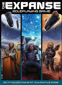 The Expanse RPG Core Rulebook HC