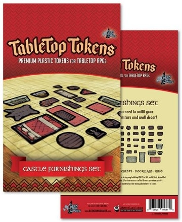 Tabletop Tokens: Castle Furnishing Set