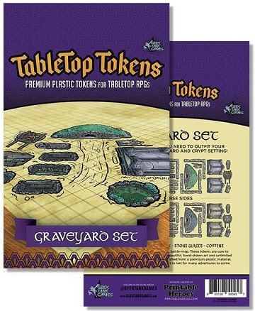 Tabletop Tokens: Graveyard Set
