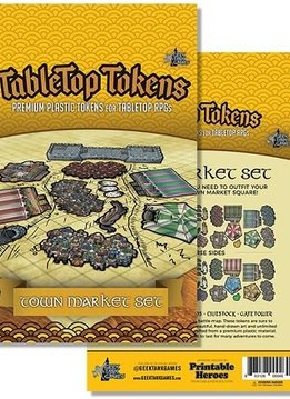 Tabletop Tokens: Town Market Set