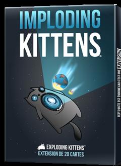 Exploding Kittens: Imploding Kittens Ext. (FR)