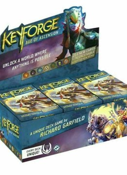 Keyforge: L'Age de L'Ascension Display (FR)