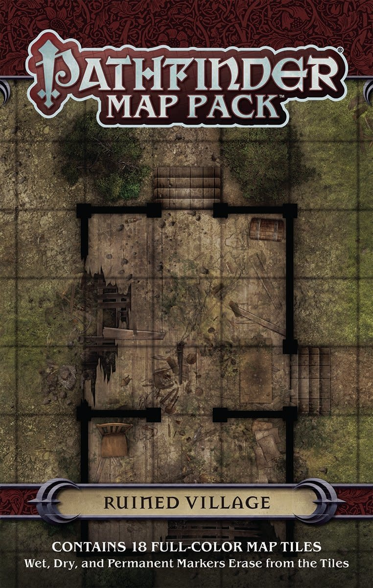 Pathfinder Map Pack: Ruined Village