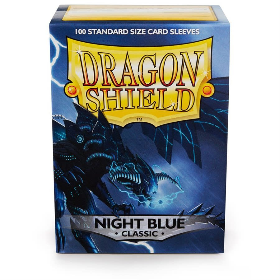 Dragon Shield Classic Night Blue Sleeves