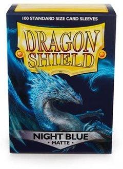 Dragon Shield Matte Night Blue Sleeves