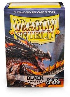 Dragon Shield Matte Black NonGlare Sleeves