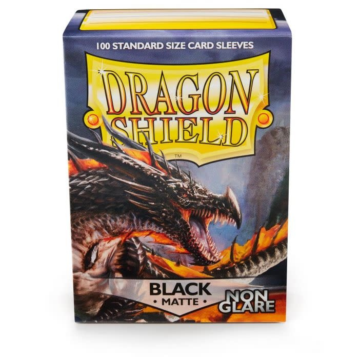 Dragon Shield Matte Black NonGlare Sleeves
