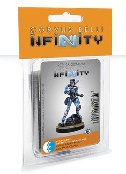 Infinity: PanOceania Patsy Garnett, Orc Troops Varuna Div NCO