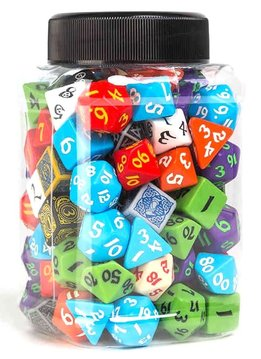 Jar of Dice Classic RPG Assortment