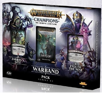 Warhammer Age of Sigmar Champions Warband Series 2 Pack
