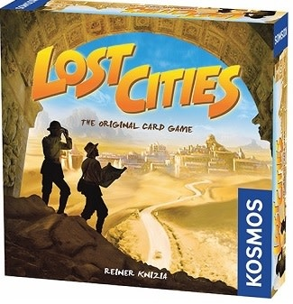 Lost Cities Card Game with 6th Expedition