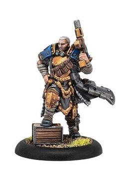 Cygnar Trencher Commando Officer Blister