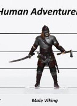 Human Adventurers Set C - Characters of Adventure