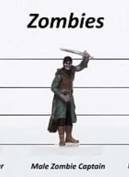 Zombies Set C - Characters of Adventure