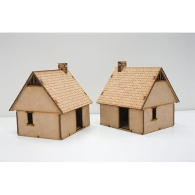 Northern European House 2 Pack (Unpainted / Unassembled)