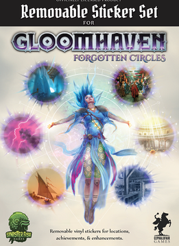 Gloomhaven : Forgotten Circles Removable Stickers