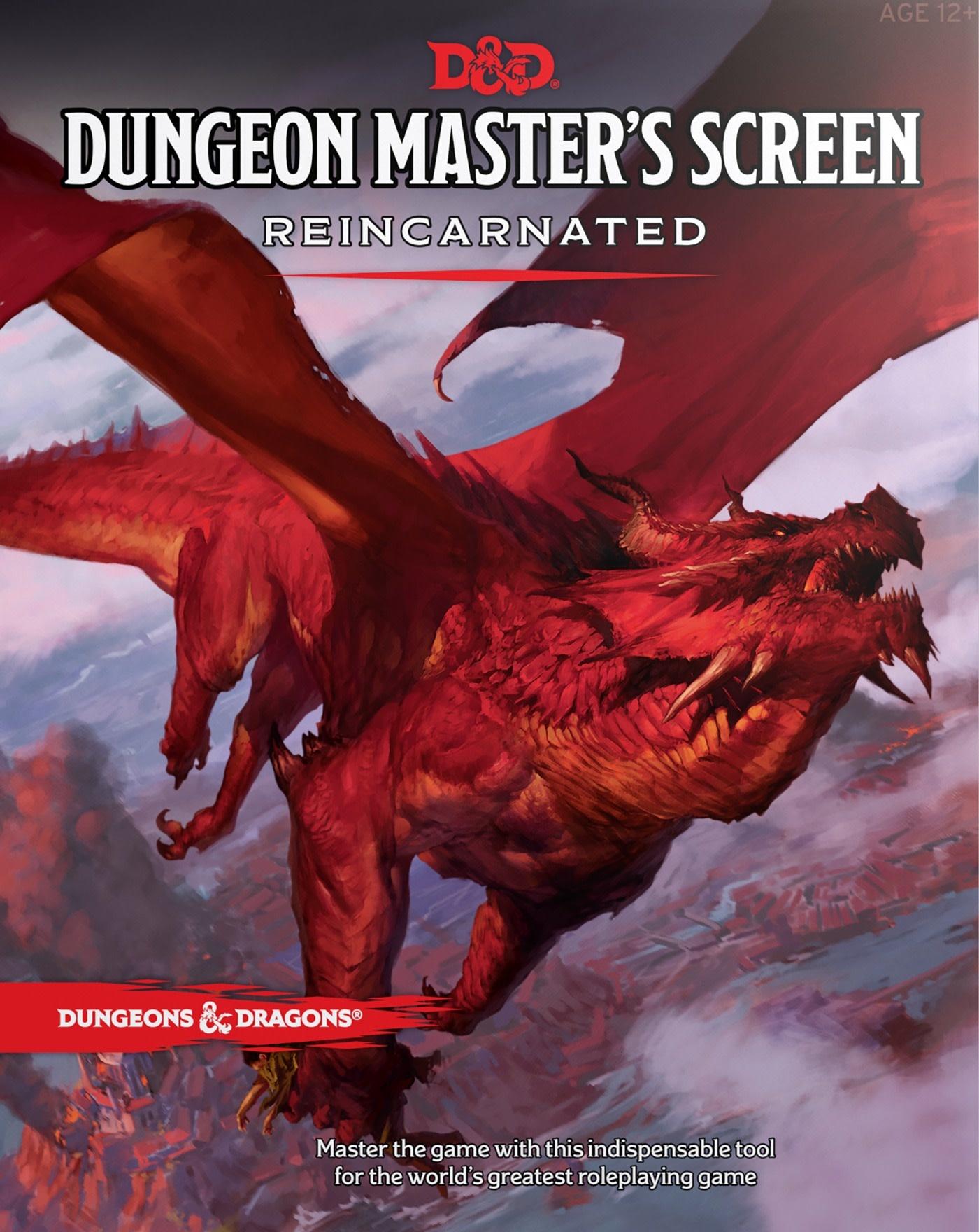 D&D Dungeon Master's Screen (FR)