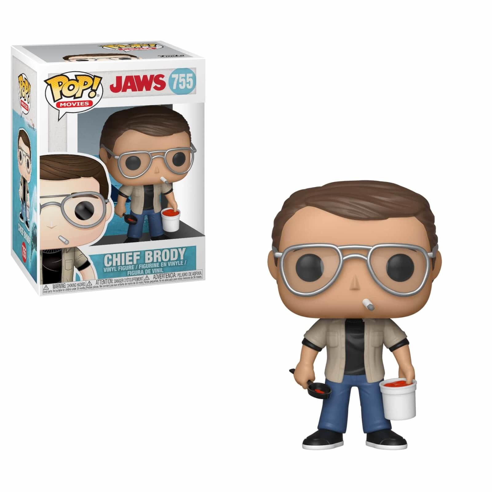 Pop! Jaws Chief Brody
