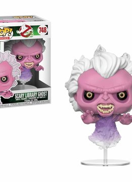 Pop! Ghostbusters Scary Ghost Library
