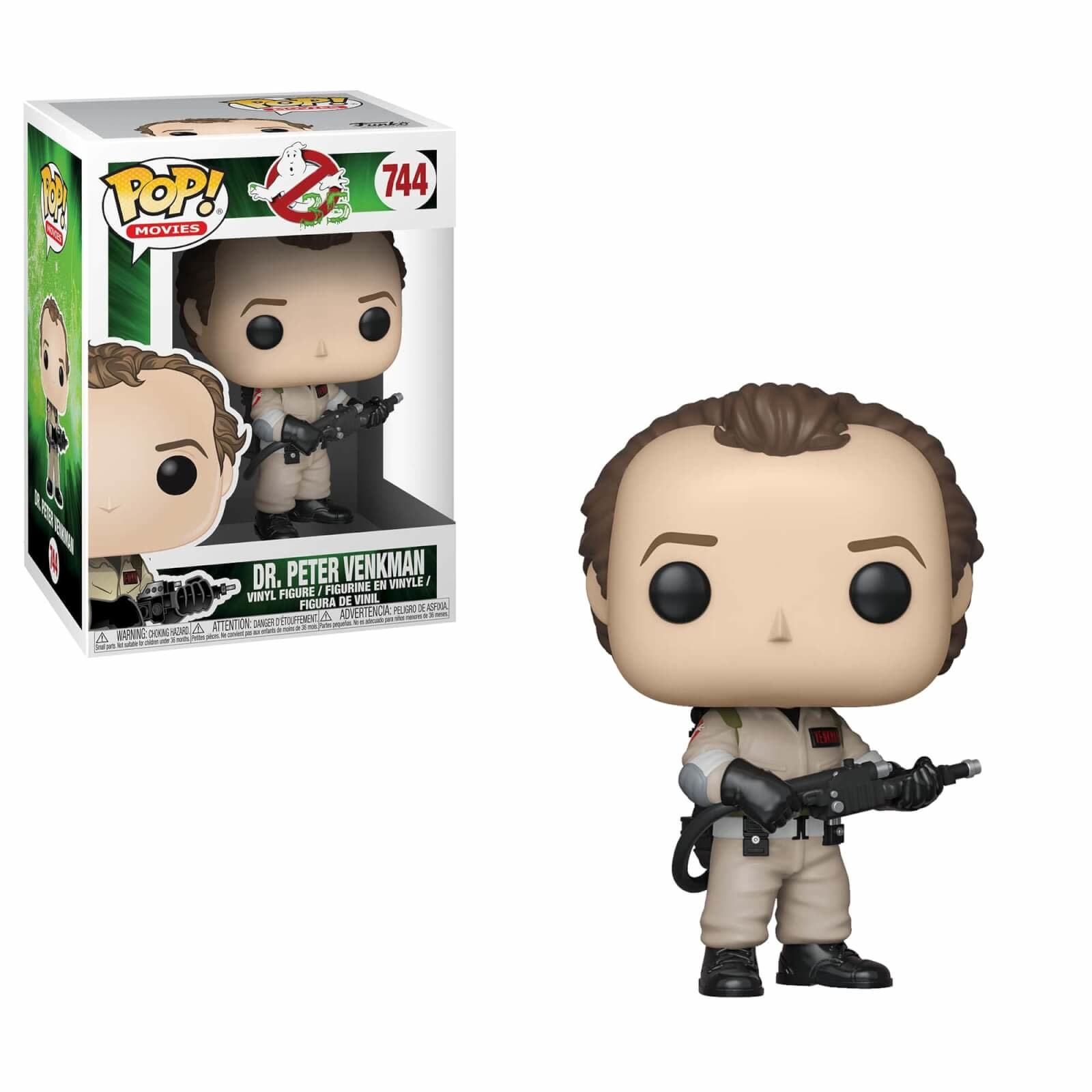 Pop! Ghostbusters Dr. Peter Venkman