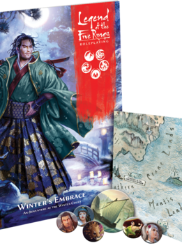 LOTFR Roleplaying game: Winter's Embrace (disponible le 27 juin)