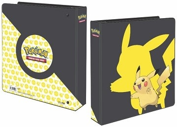 "UP Binder 2"" Pokemon Pikachu 2019"