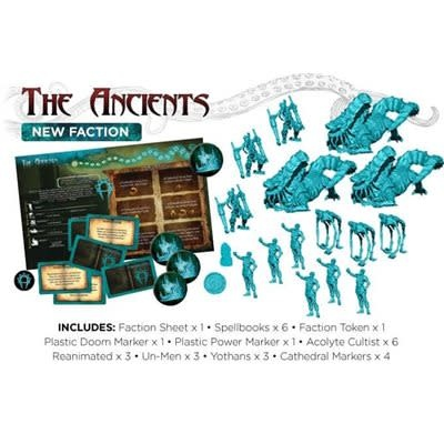 Cthulhu Wars The Ancient Faction Expansion