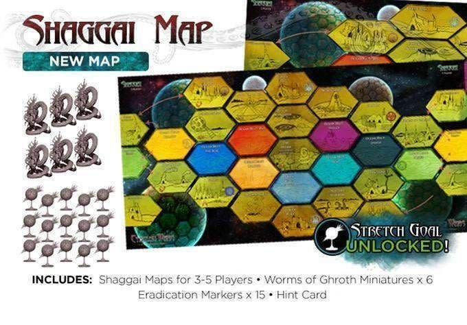 Cthulhu Wars Shaggai Map