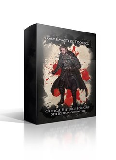 GM Toolbox: Critical Hit Deck for Players 5E