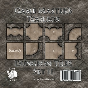 GM Toolbox: Dungeon Tiles Set II