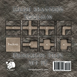 GM Toolbox: Dungeon Tiles Set IV