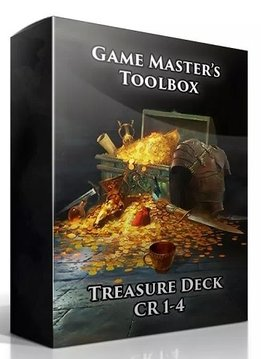 GM Toolbox: Treasure Deck CR 1-4