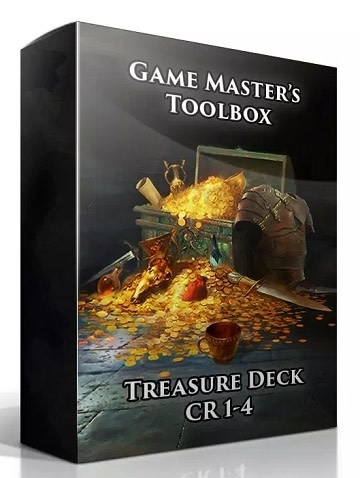 GM Toolbox: Treasure Deck CR 1-4