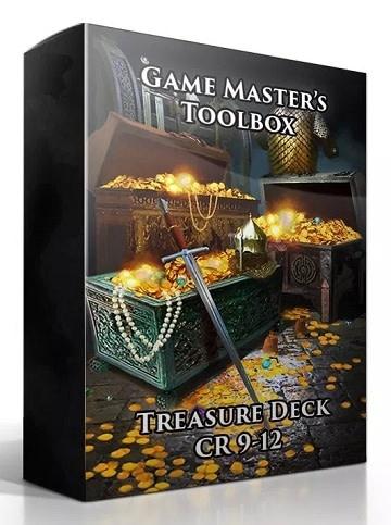 GM Toolbox: Treasure Deck CR 9-12