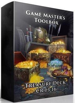 GM Toolbox: Treasure Deck CR 13-16