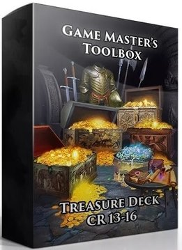 GM Toolbox: Treasure Deck CR 13-16