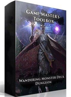 GM Toolbox: Wandering Monster Deck Dungeons