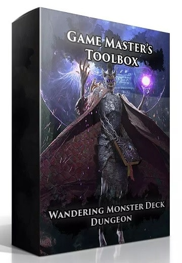 GM Toolbox: Wandering Monster Deck Dungeons