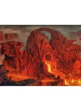 Playmat: Lands Edition II Mountain 61x35