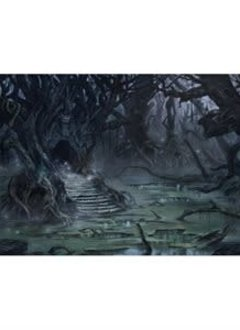Playmat: Lands Edition II Swamp 61x35