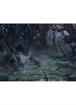 Playmat: Lands Edition II Swamp 61x35