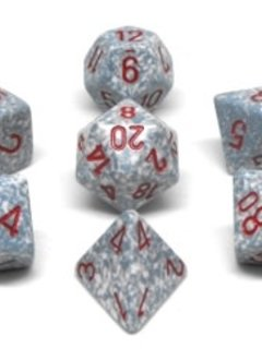 25300 Speckled Air 7pc Dice set