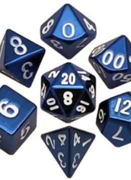MD012 16mm Metal Dice Blue