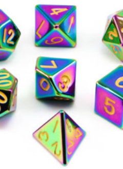 MD014 Metal Dice Rainbow