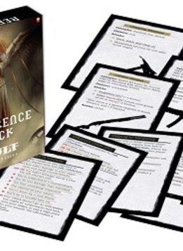 Kult RPG Divinity Lost Reference Deck