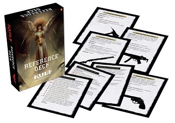 Kult RPG Divinity Lost Reference Deck